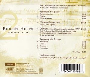 Robert Helps: Orchestral Works