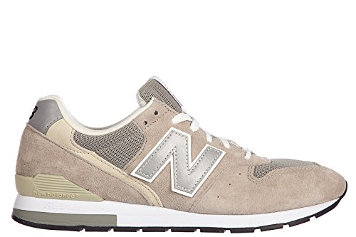 New Balance chaussures baskets sneakers homme en daim lifestyle beige