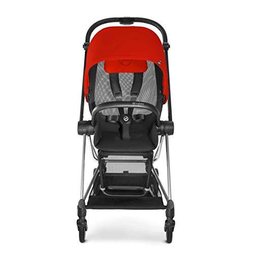 Carrinho de Bebê, Cybex, Preto/Vermelho