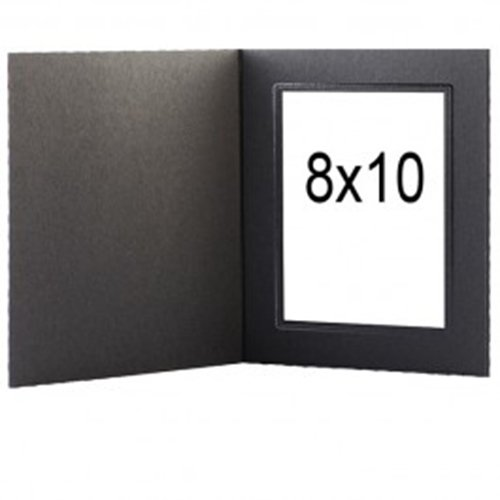 Amazon.com - Tap Photo Frame, Buckeye 8x10 Black/Silver Folder (25 ...