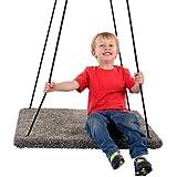 Square Carpeted Platform Swing