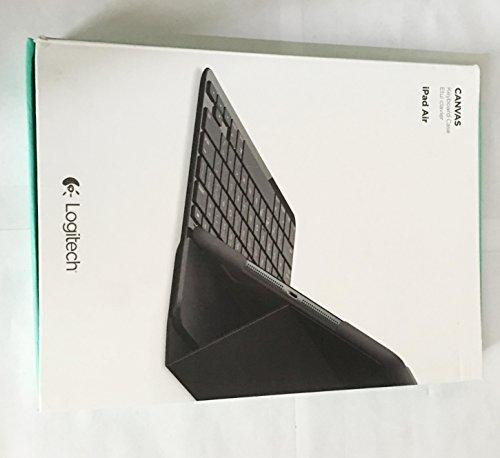 Logitech Canvas Keyboard Case for iPad Air - Black (Logitech Ipad Air 1)