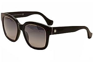 Balenciaga BA50 BA/50 01B Black Fashion Sunglasses 52mm