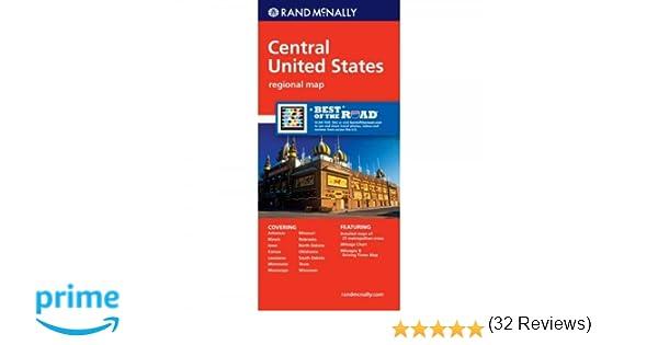 Rand McNally Central United States Regional Map Rand McNally - Us map pi