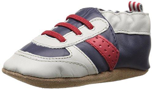 UPC 730838679191, Robeez Super Sporty Soft Sole Crib Shoe (Infant), Navy/Red, 12-18 Months M US