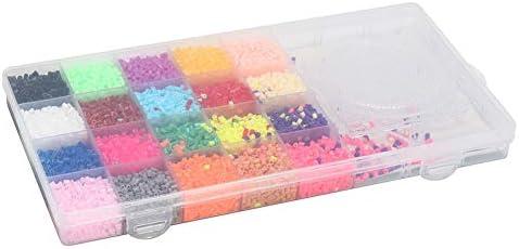 SparY Hama Beads Set 11000Pcs 2.6mm En Caja 3 Tableros Divertidos Juguetes Fusible Perler Fabricación Colgante DIY Artesanía Regalo Educativo 20 Colores Niños mpecabezas: Amazon.es: Hogar