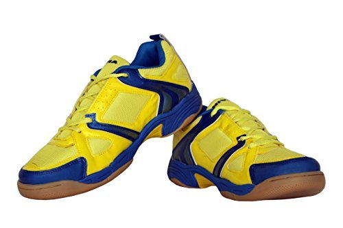 Nivia New Verdict shoe, Men's 6 UK (Yellow)