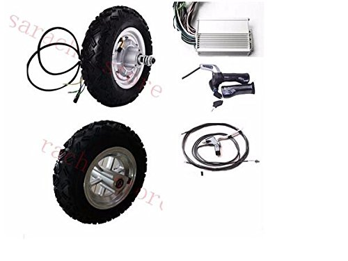 10インチ500W 48V電動モータースケートボード、電動スクータースペアパーツ、電動自転車スクーターパーツ、電動ハブモーター