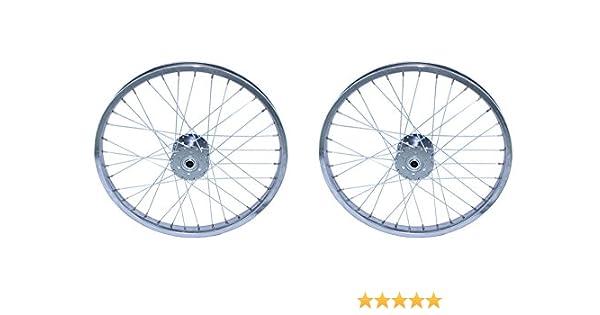 "Bicycle Hollow Hub 36h 80g Chrome 5//8/"" Center Hole Lowrider Cruiser Bike Trike"