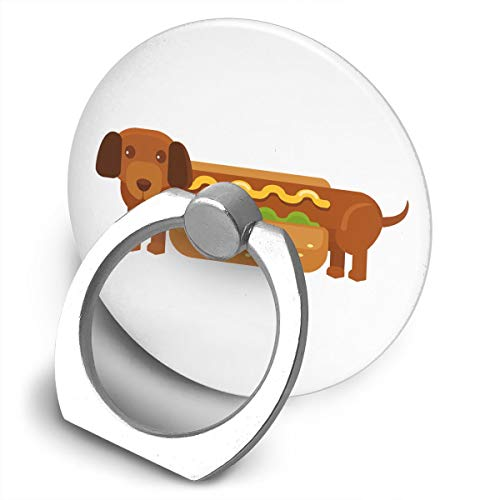 Yuotry 360 Degree Rotating Ring Stand Grip Mounts Fashion Hot Dog Universal Phone Ring Bracket Holder Smartphone Ring Stent -