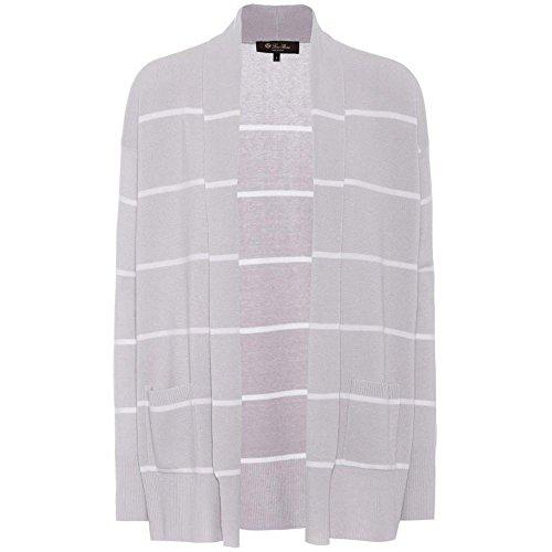 (ロロピアーナ) Loro Piana レディース トップス カーディガン Striped cashmere cardigan [並行輸入品]