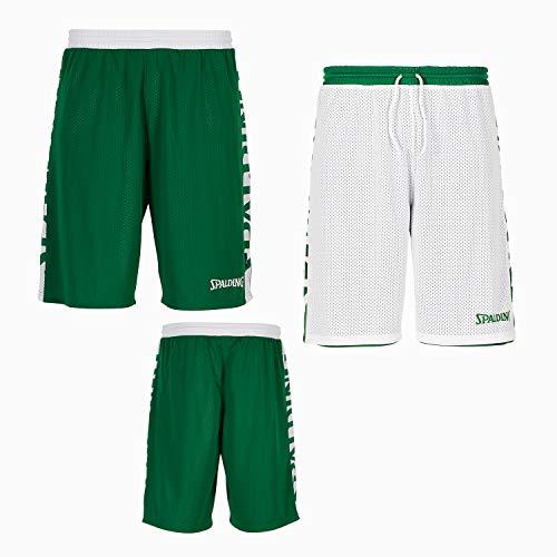lagune Größe Essential weiß Reversible Shorts 4xl Farbe Spalding TFOIIq