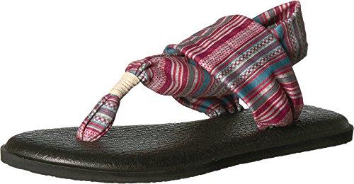 (Sanuk Women's Yoga Sling 2 Prints Sandal Natural Sonoma 9)