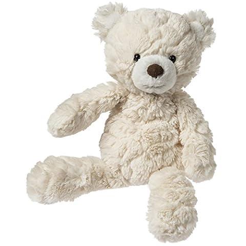 Mary Meyer Putty Bear Small Teddy Bear Soft Toy, Cream (Rugged Bear Plush)