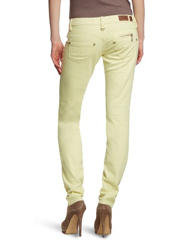 Freeman T.Porter - Pantalón slim para mujer Amarillo (712 32 Vanilla L32)