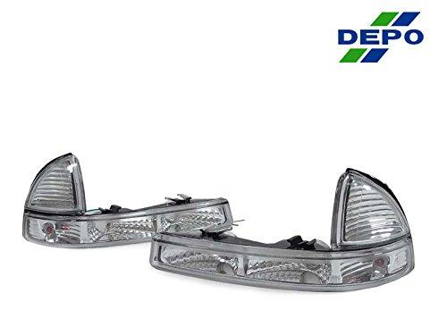 Dodge Dakota Cornering Light (DEPO 1997-2003 Dodge Dakota / Durango Clear Corner Lights Set (Left + Right))