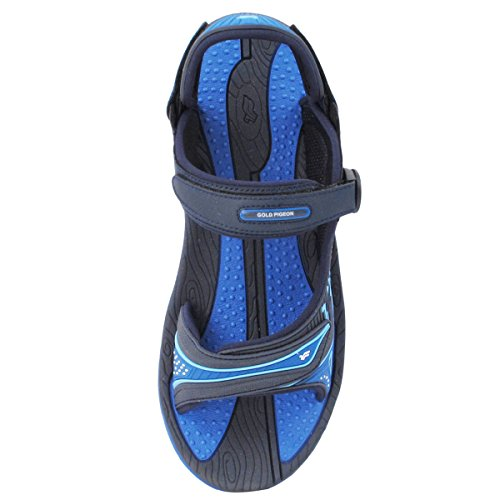 GP7592 Slide Durable Size 8655 5 Lite Men Upper 11 with Women Men Sandals Adjustable 7 Arch Breathable Support Blue Comfort rrdpqX