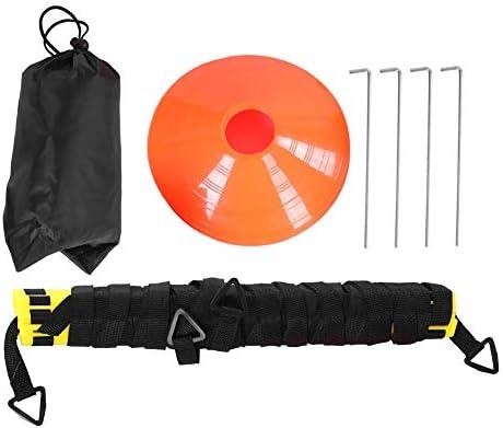 Wallfire Geschwindigkeitstrainingsleiter 6 m 12-teiliges Beweglichkeitsleitertrainingsset für Fußballfußball-Trainingshilfen
