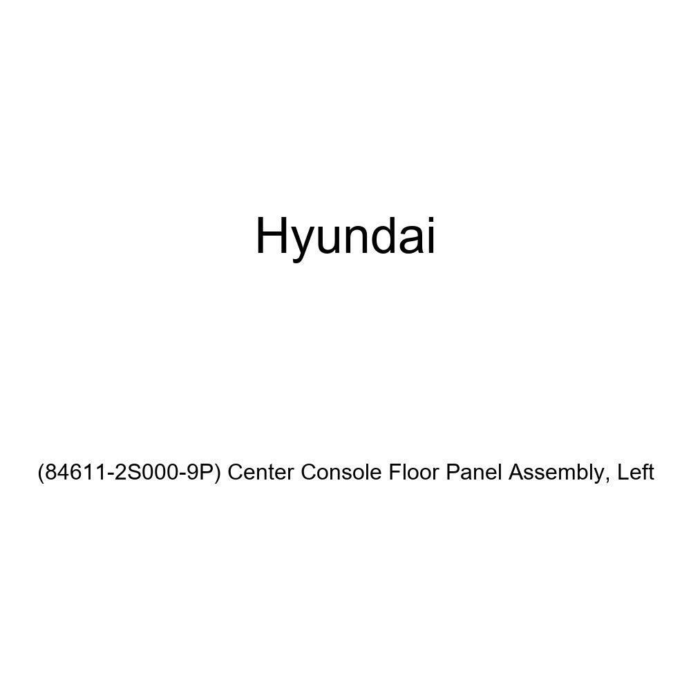 84611-2S000-9P Center Console Floor Panel Assembly Genuine Hyundai Left