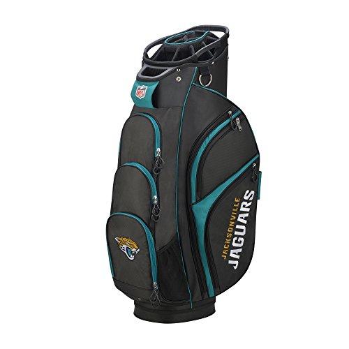 Wilson 2018 NFL Golf Cart Bag, Jacksonville Jaguars