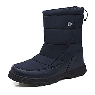 Amazon.com | ALLY UNION MAKE FORCE Mens Womens Snow Boots
