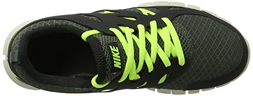 Nike Zapatillas Running Nike Free Run 2 (Gs) Gris / Amarillo