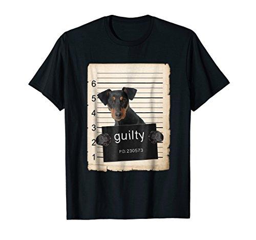 German Pinscher Dog mug shot Shirt ()