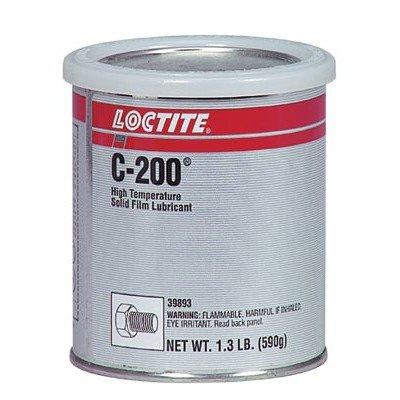 C-200 High Temperature Solid Film Lubricant Cap. Wt.: 1.300lb, Price for 1 Can (part# 39893) Loctite