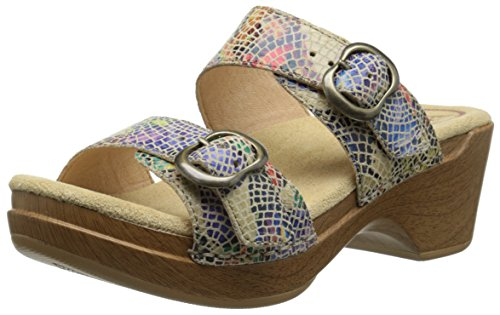 Dansko Women's Sophie Dress Sandal, Sand Multi, 42 EU/11.5-12 M US by Dansko