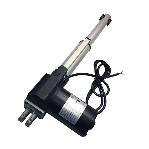 BEMONOC Stroke 100mm 4'' inch 12V Heavy Duty 4000N 881Lbs DC Linear Actuator Speed 10mm/s by Linear Actuator