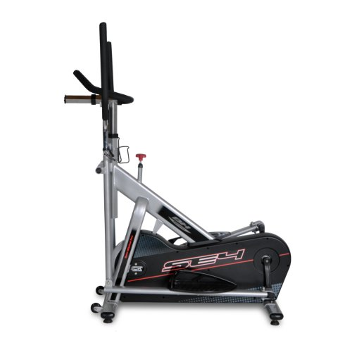 Bladez Fitness Elliptical - SE4 - A Total Body Workout And Natural Feel - Heavy Duty 40 LB Flywheel - Emergency Brake System - Transportation Wheels For Easy Room To Room Transport - Water Bottle Holder - Commercial Grade 350 LB Max User Weight