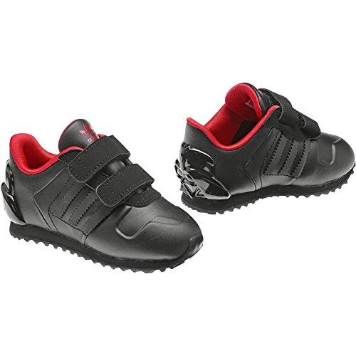 adidas ZX 700 Star Wars Darth Vader Sneaker Bambini piccoli - Nero 1, 19 EU