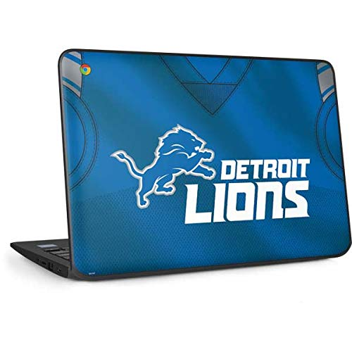 Skinit Detroit Lions Team Jersey Chromebook 11 G6 EE Skin - Officially Licensed NFL Laptop Decal - Ultra Thin, Lightweight Vinyl Decal Protection ()