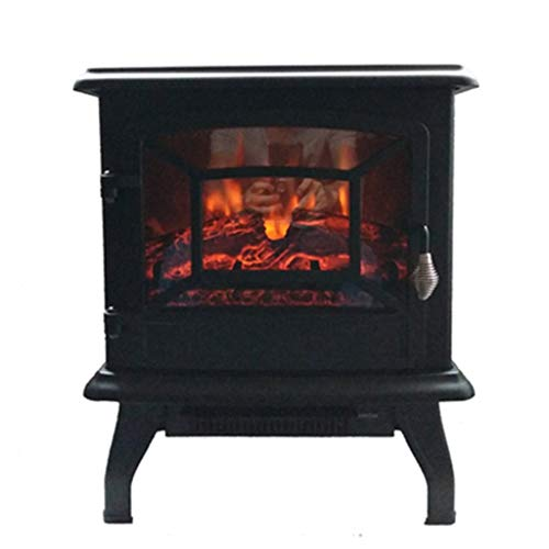 Cheap Liu Weiqin Household Electric Fireplace - freestanding Grill Heater/Simulated Flame Single Door Heating Fireplace (White red Black) 500 330 500MM (Color : A) Black Friday & Cyber Monday 2019