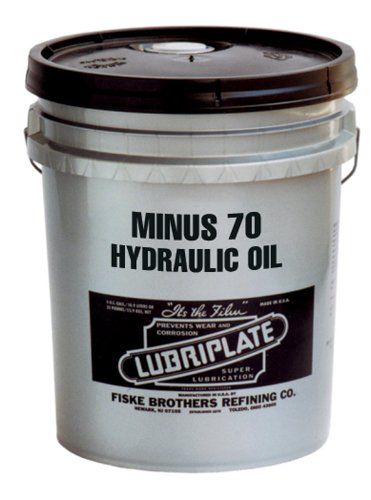 Lubriplate Minus 70 L0769-060 Low Temp Hydraulic Oil, Contains 5 Gallon Pail