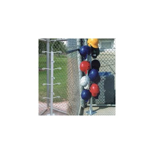 Image of Baseball Dugout Helmet Tree - Surface Mount