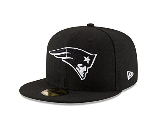 NFL New England Patriots Men's 59Fifty Fitted Cap, 7.25, ()