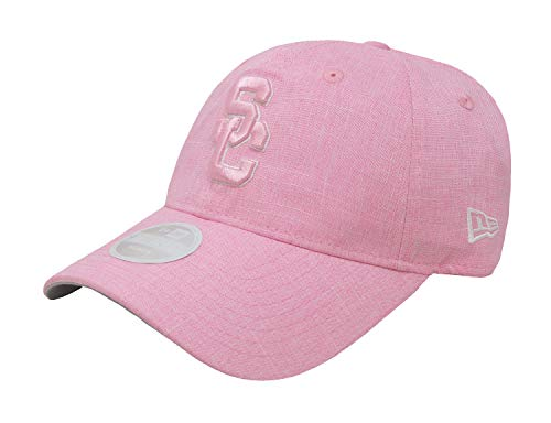 ca015a69 ... new arrivals trojans new era 9twenty women hat usc college football  lovely line pink adjustable 0f140