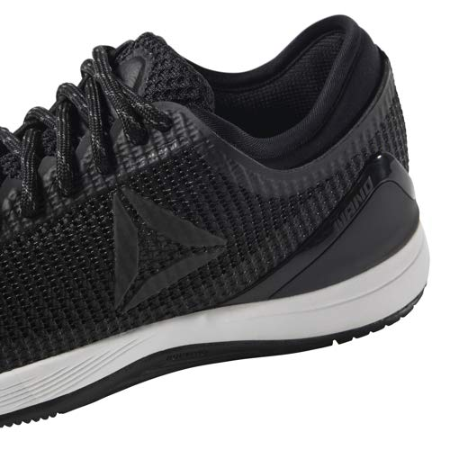 Reebok Women's CROSSFIT Nano 8.0 Flexweave Cross Trainer, Black/White, 5 M US by Reebok (Image #8)