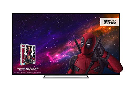 Toshiba 49U5863DB 49-Inch Smart 4K Ultra-HD HDR LED TV with Freeview Play -...