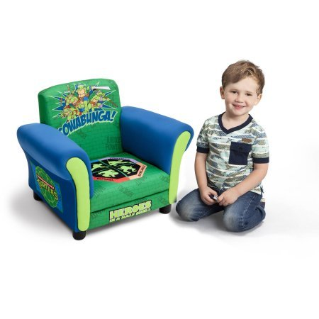 Delta Children's Products Nickelodeon Ninja Turtle Upholstered Chair by Delta Children