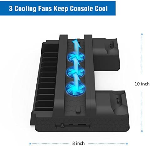 kootek ps4 pro cooling and charging stand