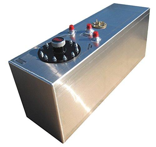 Rci Aluminum Fuel Cells - RCI 2161A Aluminum Fuel Cell, Natural Aluminum Color, 15 Gallon, 30L x 9W x 12H