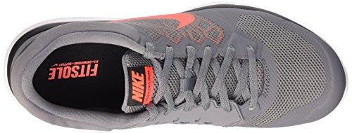Nike Flex Experience RN 4 Laufschuh Kühles Grau / Hyper Orange-helles Crimson