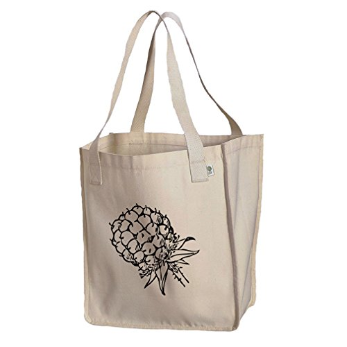 Market Tote Organic Cotton Canvas Blackberry Vintage Look #2 By Style In ()