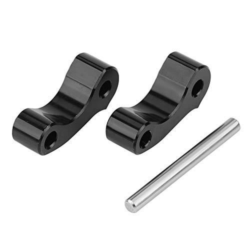 KIMISS 3Pcs Rear Aluminum Window Latch Hinge Pivots Kit for Tacoma 95-04 for Tundra Xtracab 00-06