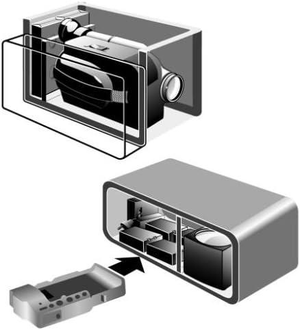 Samsonite Trekking 200 Set Videotasche Schwarz Blau Kamera