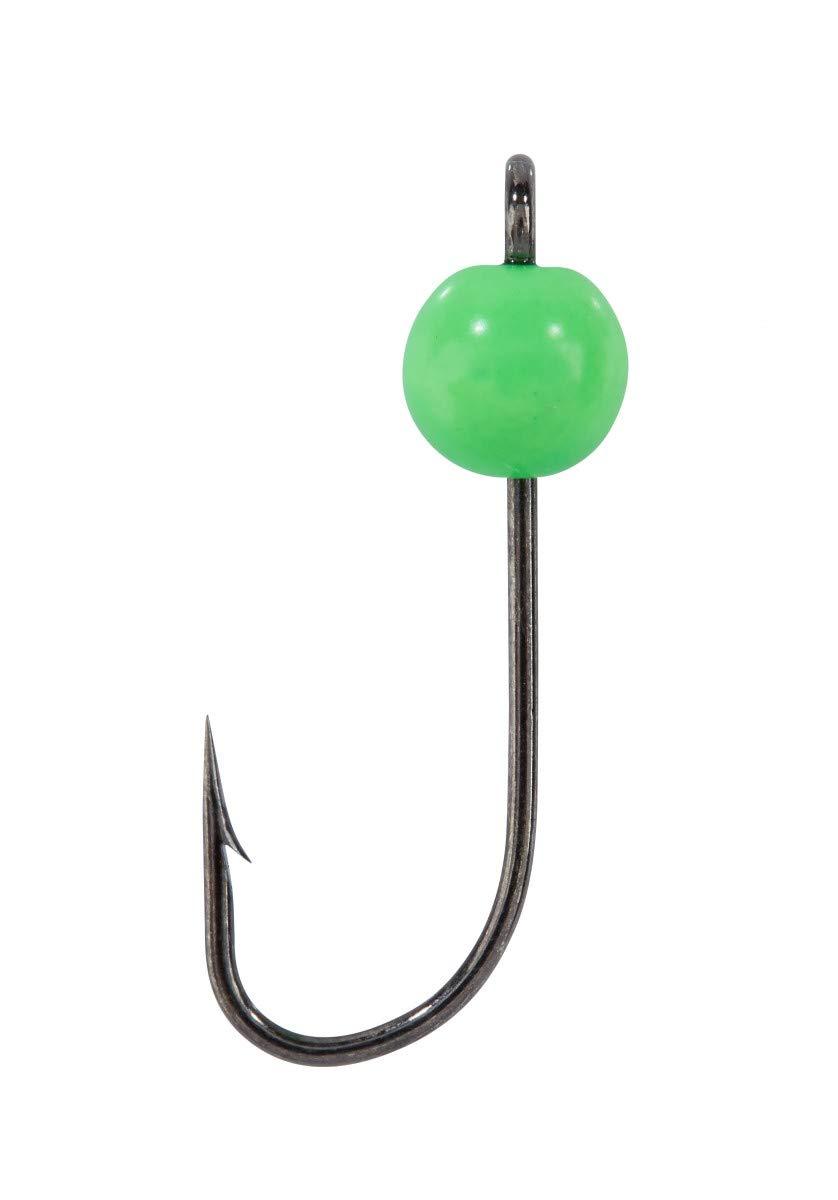 15 St/ück Neon-Bunt im Set Trout Collector Balzer Forellen-Haken Gr 8 mit Tungsten-Perlen 0,45-1,3g Montiert