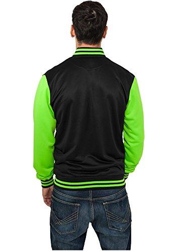 Urban Classics Neon College Veste mi-saison Black/