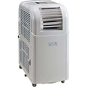 Arctic Wind AP8018 Portable Air Conditioner with Remote Control for Rooms up to 150-Sq. Ft.